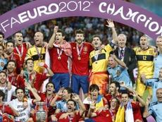 España ganó la Eurocopa de 2012 tras vencer por 4-0 a Italia en la final. EFE