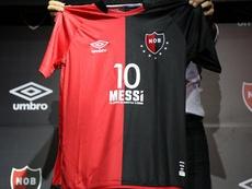 Messi quiere seguir en Barcelona. Newell'sOldBoys