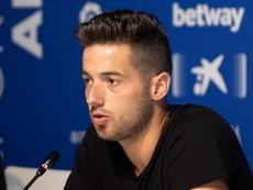 Jony, sur le point de signer à la Lazio. EFE