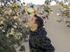 El centrocampista rebosa confianza. Instagram/euge_pizzuto