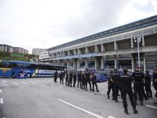 El dispositivo de seguridad del derbi asturiano será el mismo del año pasado. Twitter/RealOviedo