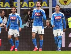 Il Napoli smentisce la rishiesta di rinvio. EFE