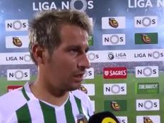 Coentrao la vuelve a liar con unas polémicas declaraciones sobre el Benfica. Captura/VSports