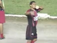 Fabio Junior vuelve a los terrenos de juego. Captura