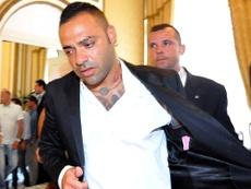 L'ancien joueur de Parme ira en prison. AFP