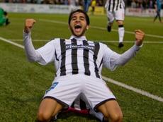 Faissal El Bakhtaoui scored a hat-trick for Dunfermline. DAFC