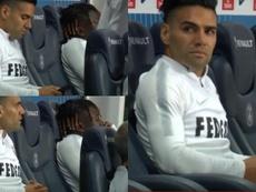 Falcao a expliqué pourquoi il est sorti face au PSG. Capture/AS