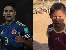 El futuro narrador del fútbol colombiano. EFE/Captura/Twitter