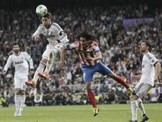 El Atlético puede presumir de ser el último en ganar al Madrid en una final. EFE
