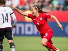 Fara Williams es una leyenda del fútbol femenino inglés. AFP