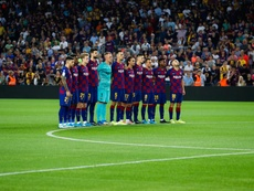 LaLiga denunció cánticos ofensivos. Twitter/FCBarcelona_es
