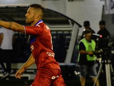 Fede González hizo un doblete para el 'Matador'. Twitter/catigreoficial