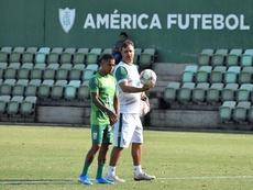 Felipe Conceição deixa o América-MG para assumir o RB Bragantino. Estevão Germano/América