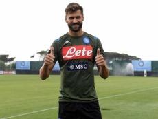 Ancelotti anticipó la titularidad de Llorente. SSCNapoliES