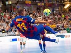 El Barça, la bestia negra de ElPozo Murcia. FCBFutsal