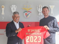 Benfica announced three important signings at once. Twitter/SLBenfica