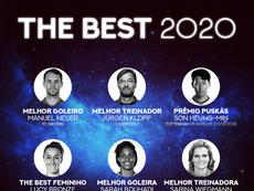 Fifa entregou os prêmios aos vencedores do The Best 2020. BeSoccer
