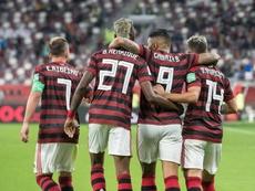Flamengo vira o jogo em cima do Al Hilal e é o primeiro finalista do Mundial de Clubes 19. AFP
