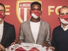 El Mónaco se adelanta a Europa e incorpora a Florentino Luis. Twitter/AS_Monaco