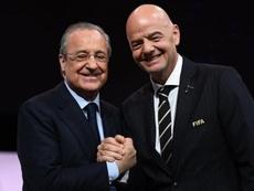 El Madrid quiere una Superliga compatible con la Española. EFE