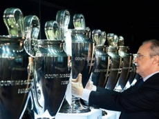 Real Madrid won the first ever European Cup. RealMadrid