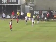 Flores forzó la quinta amarilla ante Talleres. Youtube