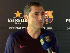 Valverde a parlé des nouvelles recrues du Barça. FCBarcelona