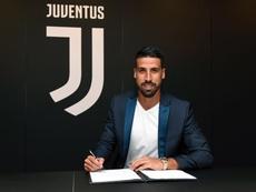 Sami Khedira da Juventus. JuventusFC