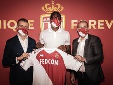 Alex Disasi signe à l'AS Monaco jusqu'en 2025. Twitter/AS_Monaco