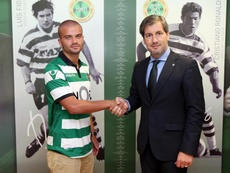 Pedro Empis ficha por el Estoril. Twitter/SportingCP
