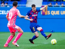 El filial del Barça venció. Twitter/FCBarcelonaB