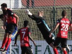 El Slavia Mozyr no aprovechó la ocasión. BATEBorisov