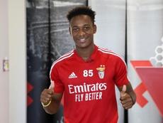 El canterano del Benfica solo tiene 19 años. EFE/SLBenfica