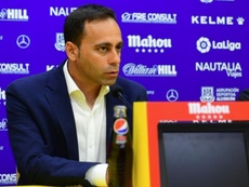 Fran Fernández destacó la victoria del Alcorcón ante el Málaga. CDAlcorcón