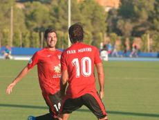 La Nucía recibe al Villarreal B. Twitter/cfnucia