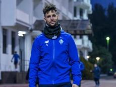 El delantero español ha escrito su propio libro. Twitter/DynamoKyiv