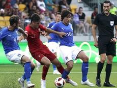Trincao n'a que peu de temps de jeu en équipe première de Braga. AFP