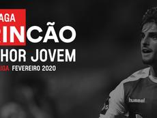 Trincão foi escolhido novamente como o melhor jogador Sub-23 da Primeira Liga. SJPF_PT