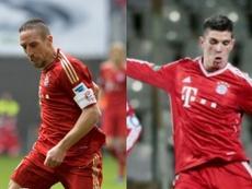 Steeven Ribéry, a la derecha, no jugará en Toluca.