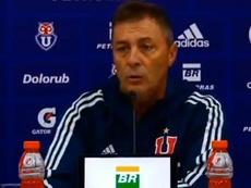 Kudelka podría dejar de ser entrenador de Universidad de Chile. Twitter/UdeChile