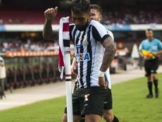 'Gabigol' se quedó sin marcar en la última jornada. Santos