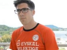 Larrazabal habló sobre el partido ante Panamá. Captura/EFF-FVF