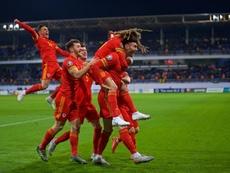 Gales no necesita a Bale para que haya 'final' por la Eurocopa. FAWales
