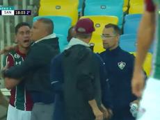 Ganso será multado por ofender Oswaldo de Oliveira. Captura/SporTV