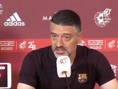 García Pimienta se resigna sin Ansu Fati ni Riqui Puig. Captura/RFEF