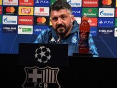 Gattuso évoque Pirlo. Twitter/sscnapoli