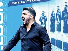 Gattuso é o novo técnico do Napoli. Napoli