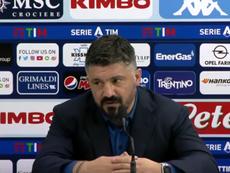 Gattuso no se muerde la lengua jamás. Captura/AStv