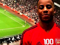 Lewis has signed for Arsenal. Screenshot/Youtube
