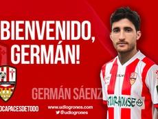 La UD Logroñés se refuerza con Germán Sáenz. UDLogroñes